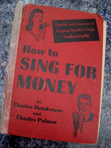 how to sing for money book 2239 Singing Lessons Dundee