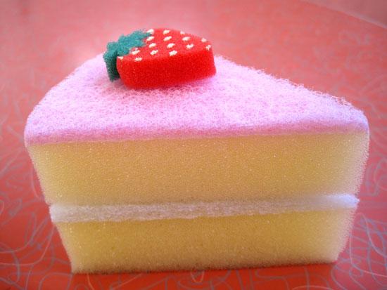 Sponge Cake Over Beat Mixture