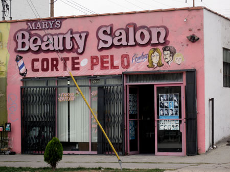 I Love Handpainted Beauty Salon