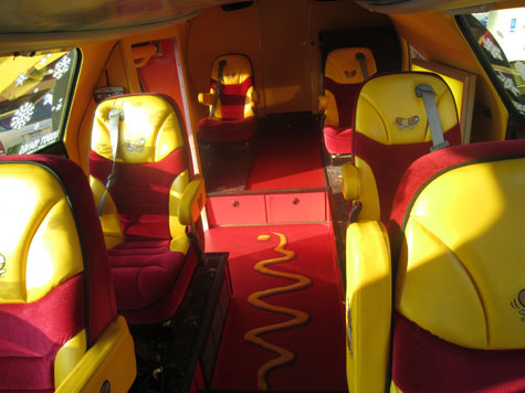 Image Gallery Wienermobile Seats