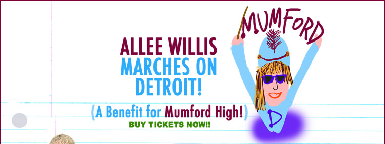 Allee Willis Marches On Detroit!