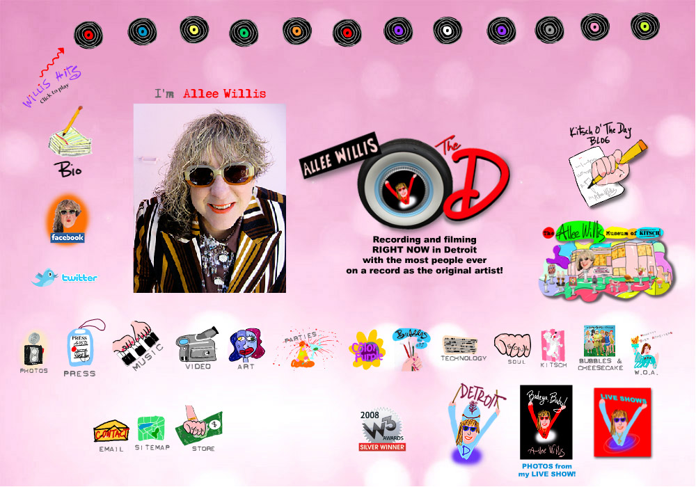 Allee Willis - Songwriter, Artist, Multimedia Artist, and lots more