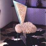 allee willis art furniture poodle chair front