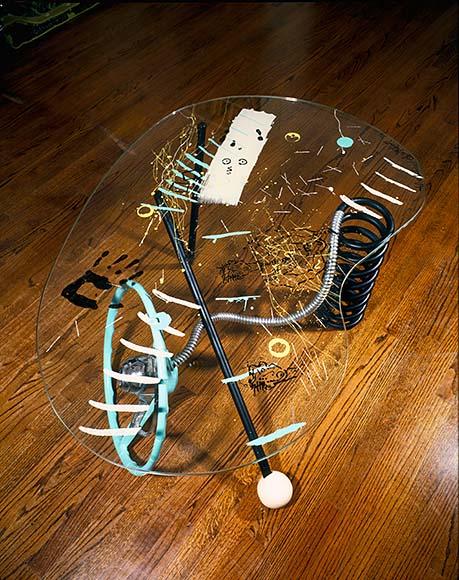 allee willis art furniture steering wheel table2