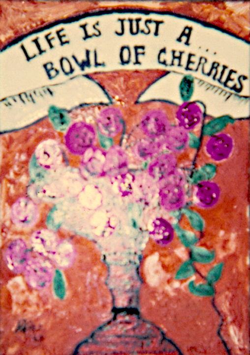 allee willis art early allee art life is a bowl of cherries