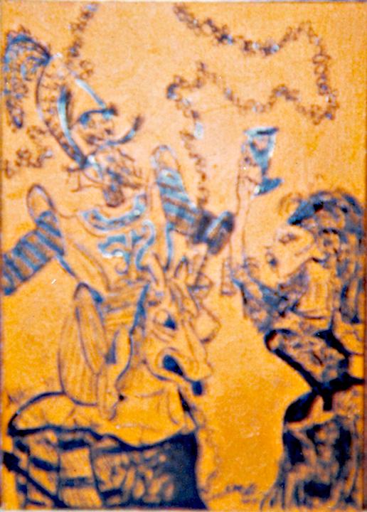 allee willis art early allee art la mancha art