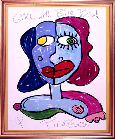 allee willis art girl with blue period