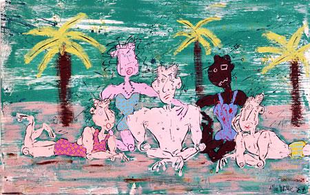 allee willis art on the beach