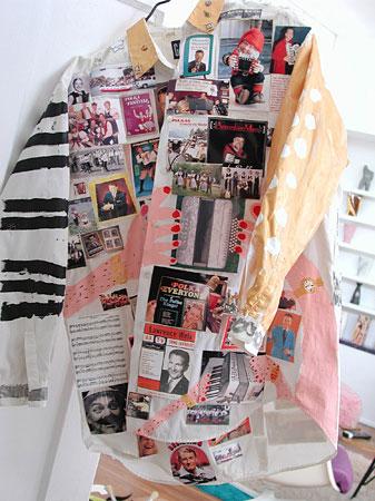 allee willis art polka party shirt