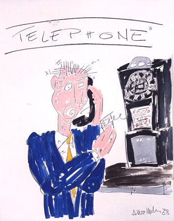 allee willis art telephone