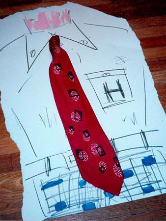 allee willis art tie painting