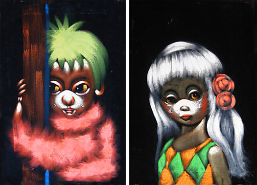 poodle-boy-and-girl-velvet-paintings1