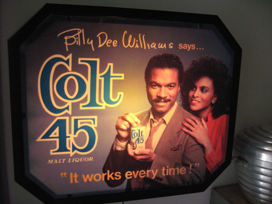 billy-dee-wiliams-colt-45-sign
