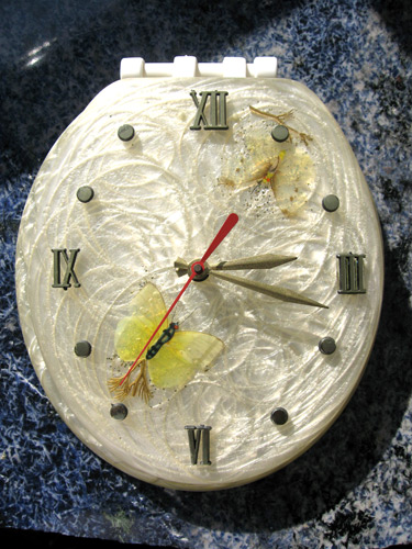 Toilet-Clock-With-Butterflies-_5056
