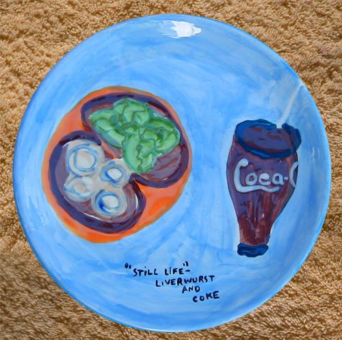 liverwurst-coke-dinner-plate