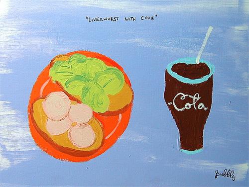 liverwurst-coke-painting