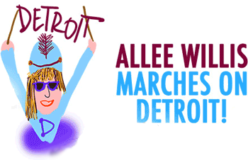 Allee Willis Marches On Detroit