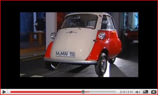 Shut The Front Door 1955 Bmw Isetta Bubble Car The Allee Willis